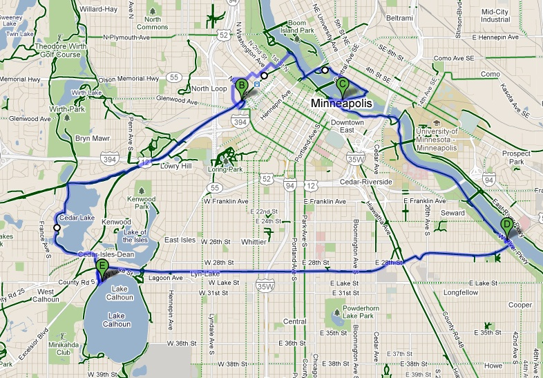 Minneapolis is a very nice city for biking but it is for Portland maine bike trails